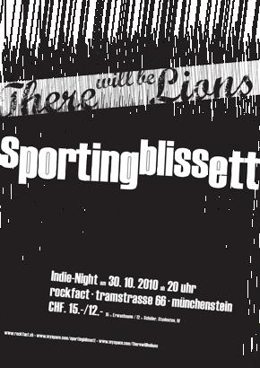 Sporting Blissett im Rockfact
